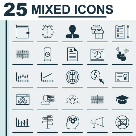 graduation countdown: Set Of 25 Universal Editable Icons For Marketing, Education And SEO Topics. Includes Icons Such As SEO Brainstorm, PPC, World And More.