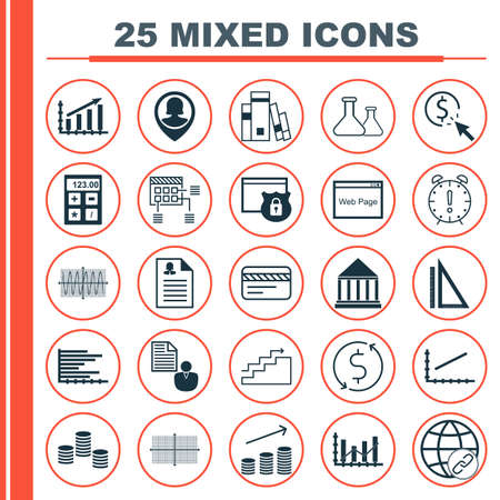 magazine stack: Set Of 25 Universal Editable Icons For Airport, Human Resources And SEO Topics. Includes Icons Such As Bars Chart, Money Trasnfer, Female Application And More.