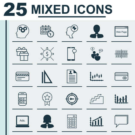 transact: Set Of 25 Universal Editable Icons For Marketing, Tourism And Traveling Topics. Includes Icons Such As Calculation, Money, Present Badge And More.