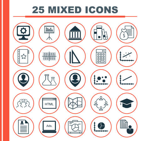 profile measurement: Set Of 25 Universal Editable Icons For Airport, Education And Advertising Topics. Includes Icons Such As Employee Location, Warranty, Pin Employee And More.