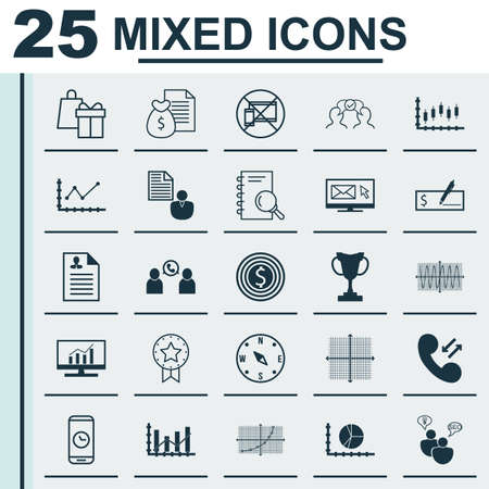 line up: Set Of 25 Universal Editable Icons For Statistics, Project Management And Business Management Topics. Includes Icons Such As Shopping, Line Up, Market Research And More. Illustration
