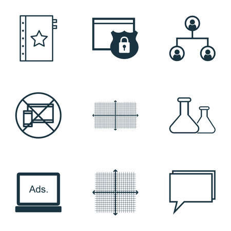 protection icon: Set Of 9 Universal Editable Icons For Education, Advertising And Travel Topics. Includes Icons Such As Security, Forbidden Mobile, Tree Structure And More.