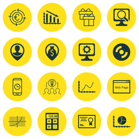 line up: Set Of 16 Universal Editable Icons For Management, Education And Traveling Topics. Includes Icons Such As Line Up, Blank Cd, Currency Recycle And More.