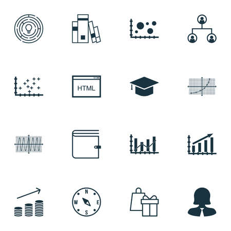 line up: Set Of 16 Universal Editable Icons For Traveling, Transportation And School Topics. Includes Icons Such As Line Up, Coins Growth, Coding And More.