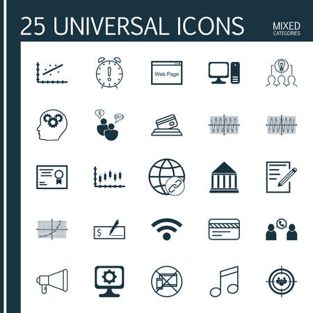 cosinus: Set Of 25 Universal Editable Icons. Can Be Used For Web, Mobile And App Design. Includes Icons Such As Cosinus Diagram, Certificate, Forbidden Mobile And More. Illustration