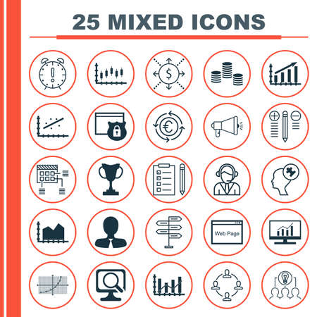 recycling campaign: Set Of 25 Universal Editable Icons. Can Be Used For Web, Mobile And App Design. Includes Icons Such As Money, Operator, Laptop And More.