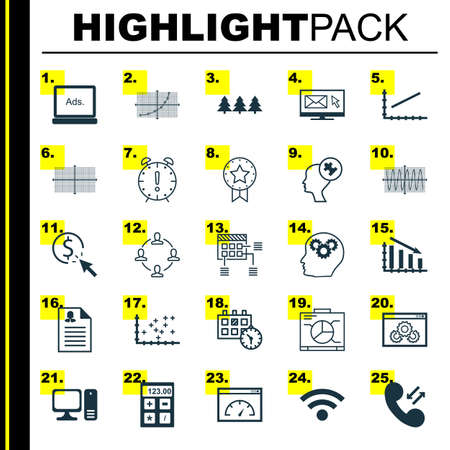 line up: Set Of 25 Universal Editable Icons. Can Be Used For Web, Mobile And App Design. Includes Icons Such As Line Up, Newsletter, Plot Diagram And More.