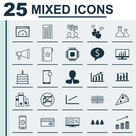 business deal: Set Of 25 Universal Editable Icons. Can Be Used For Web, Mobile And App Design. Includes Icons Such As Coins Growth, Line Up, Business Deal And More.