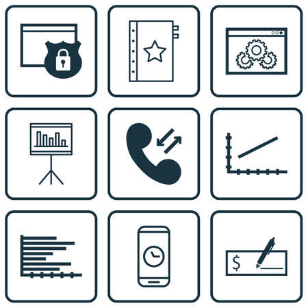 roaming: Set Of 9 Universal Editable Icons. Can Be Used For Web, Mobile And App Design. Includes Icons Such As Bank Payment, Website Performance, Call Duration And More.