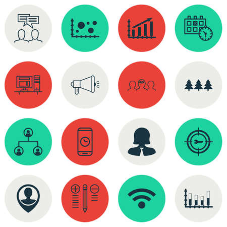 roaming: Set Of 16 Universal Editable Icons. Can Be Used For Web, Mobile And App Design. Includes Icons Such As Comparsion, Business Woman, Tree Structure And More.