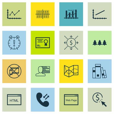 ability to speak: Set Of 16 Universal Editable Icons. Can Be Used For Web, Mobile And App Design. Includes Icons Such As Money, PPC, Time Management And More. Illustration