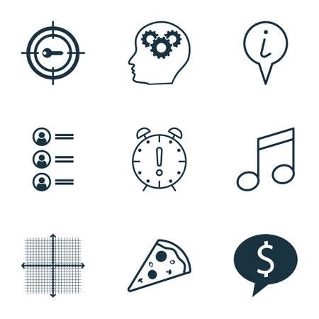 the applicant: Set Of 9 Universal Editable Icons. Can Be Used For Web, Mobile And App Design. Includes Icons Such As Sliced Pizza, Job Applicants, Business Deal And More. Illustration