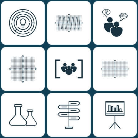 cosinus: Set Of 9 Universal Editable Icons. Can Be Used For Web, Mobile And App Design. Includes Icons Such As Opportunity, Cosinus Diagram, Square Diagram And More.