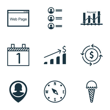 the applicant: Set Of 9 Universal Editable Icons. Can Be Used For Web, Mobile And App Design. Includes Icons Such As Website, Pin Employee, Agenda And More.