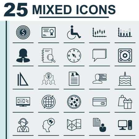 infirm: Set Of 25 Universal Editable Icons. Can Be Used For Web, Mobile And App Design. Includes Icons Such As Plastic Card, Business Goal, Locate And More.