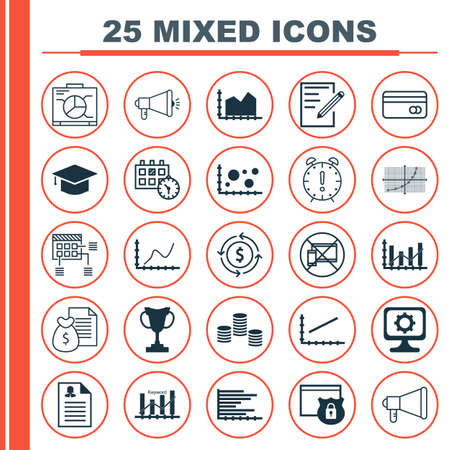 graduation countdown: Set Of 25 Universal Editable Icons. Can Be Used For Web, Mobile And App Design. Includes Icons Such As Graduation, Report, Female Application And More.