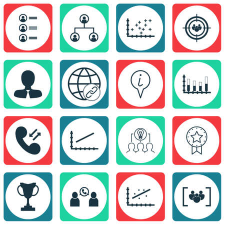first form: Set Of 16 Universal Editable Icons. Can Be Used For Web, Mobile And App Design. Includes Icons Such As Info Pointer, Tree Structure, Phone Conference And More.