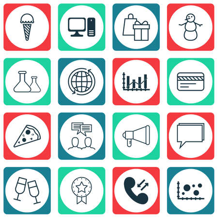 pay raise: Set Of 16 Universal Editable Icons. Can Be Used For Web, Mobile And App Design. Includes Icons Such As Cellular Data, Frozen Food, Discussion And More.