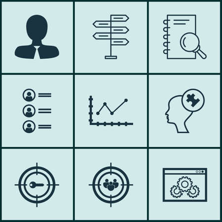 list of successful candidates: Set Of 9 Universal Editable Icons. Can Be Used For Web, Mobile And App Design. Includes Icons Such As Opportunity, Focus Group, Human Mind And More.