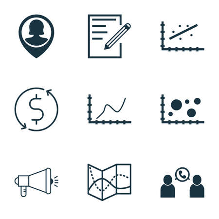 recycling campaign: Set Of 9 Universal Editable Icons. Can Be Used For Web, Mobile And App Design. Includes Icons Such As Comparison, Pin Employee, Paper And More.
