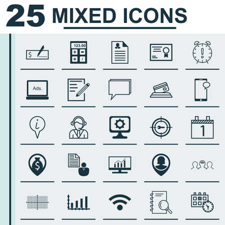 sms payment: Set Of 25 Universal Editable Icons. Can Be Used For Web, Mobile And App Design. Includes Icons Such As Money Navigation, Info Pointer, Report And More. Illustration