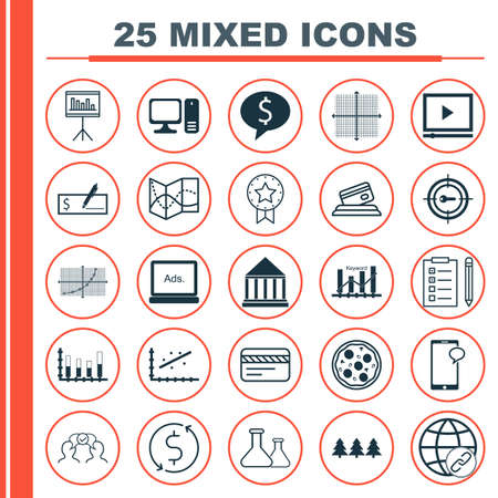scanned: Set Of 25 Universal Editable Icons. Can Be Used For Web, Mobile And App Design. Includes Icons Such As Reminder, Graphical Grid, Bank Payment And More.