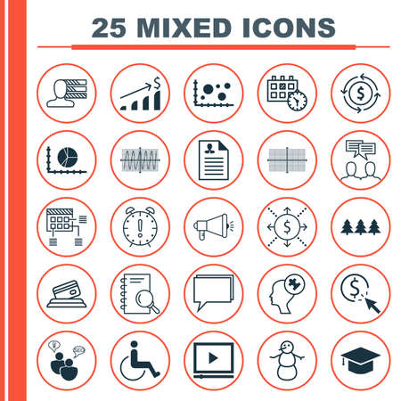 scanned: Set Of 25 Universal Editable Icons. Can Be Used For Web, Mobile And App Design. Includes Icons Such As Appointment, Media Campaign, Credit Card And More.