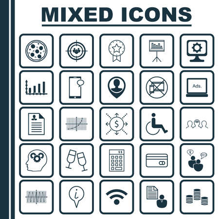 cosinus: Set Of 25 Universal Editable Icons. Can Be Used For Web, Mobile And App Design. Includes Icons Such As Accessibility, Curriculum Vitae, Cosinus Diagram And More.