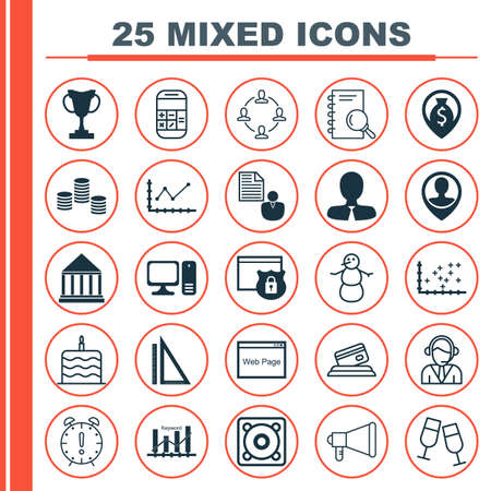 burning money: Set Of 25 Universal Editable Icons. Can Be Used For Web, Mobile And App Design. Includes Icons Such As Collaboration, Security, Champagne Glasses And More.