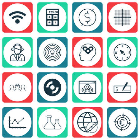 application recycle: Set Of 16 Universal Editable Icons. Can Be Used For Web, Mobile And App Design. Includes Icons Such As Operator, Wireless, Connectivity And More.