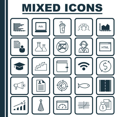 application recycle: Set Of 25 Universal Editable Icons. Can Be Used For Web, Mobile And App Design. Includes Icons Such As Media Campaign, Successful Investment, Money Trasnfer And More.