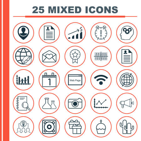 medical evaluation: Set Of 25 Universal Editable Icons. Can Be Used For Web, Mobile And App Design. Includes Icons Such As Music, Birthday Cake, Raise Diagram And More.