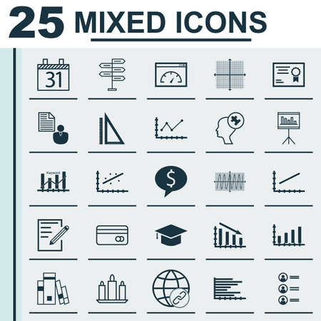 cosinus: Set Of 25 Universal Editable Icons. Can Be Used For Web, Mobile And App Design. Includes Icons Such As Cosinus Diagram, Opportunity, Paper And More.
