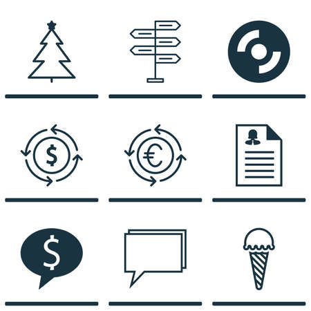 application recycle: Set Of 9 Universal Editable Icons. Can Be Used For Web, Mobile And App Design. Includes Icons Such As Conference, Female Application, Money Recycle And More. Illustration