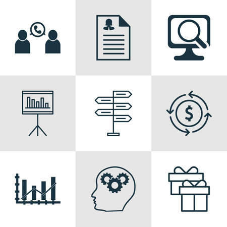 application recycle: Set Of 9 Universal Editable Icons. Can Be Used For Web, Mobile And App Design. Includes Icons Such As Female Application, Phone Conference, Money Recycle And More.