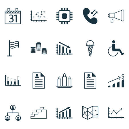 frozen food: Set Of 20 Universal Editable Icons. Can Be Used For Web, Mobile And App Design. Includes Icons Such As Chip, Changes Graph, Frozen Food And More.