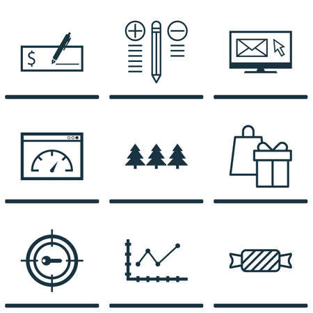 changing form: Set Of 9 Universal Editable Icons. Can Be Used For Web, Mobile And App Design. Includes Icons Such As Loading Speed, Shopping, Holiday Ornament And More.