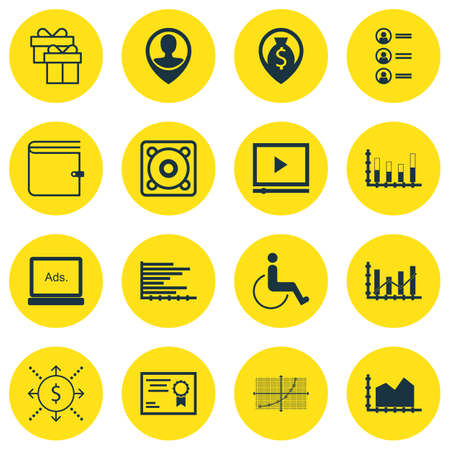 raise: Set Of 16 Universal Editable Icons. Can Be Used For Web, Mobile And App Design. Includes Icons Such As Raise Diagram, Sequence Graphics, Accessibility And More.