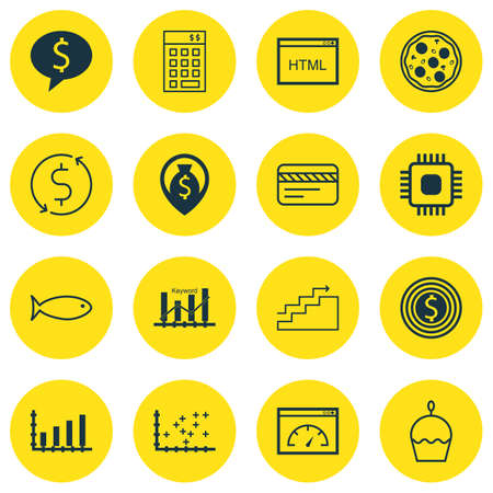 say cheese: Set Of 16 Universal Editable Icons. Can Be Used For Web, Mobile And App Design. Includes Icons Such As Investment, Dynamics, Money Trasnfer And More.