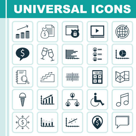 frozen food: Set Of 25 Universal Editable Icons. Can Be Used For Web, Mobile And App Design. Includes Icons Such As Accessibility, Frozen Food, Analytics And More.