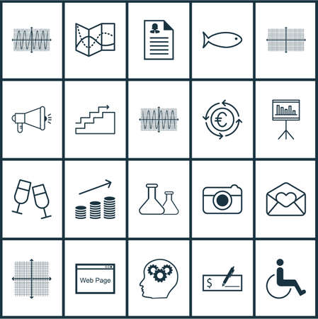 cosinus: Set Of 20 Universal Editable Icons. Can Be Used For Web, Mobile And App Design. Includes Icons Such As Currency Recycle, Cosinus Diagram, Fishing And More.