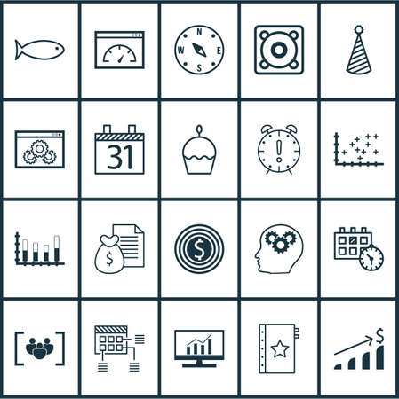 locate: Set Of 20 Universal Editable Icons. Can Be Used For Web, Mobile And App Design. Includes Icons Such As Locate, Market Research, Loading Speed And More.