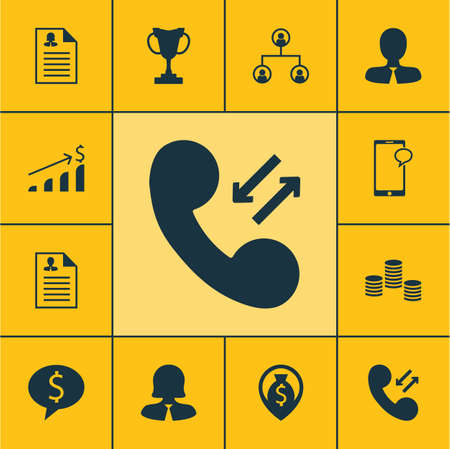 ability to speak: Set Of Human Resources Icons On Tree Structure, Cellular Data And Messaging Topics. Editable Vector Illustration. Includes Discussion, Trophy, Pin And More Vector Icons.