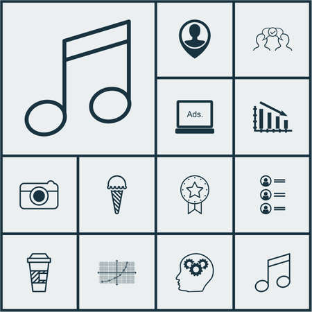 away travel: Set Of 12 Universal Editable Icons. Can Be Used For Web, Mobile And App Design. Includes Icons Such As Brain Process, Frozen Food, Crotchets And More. Illustration