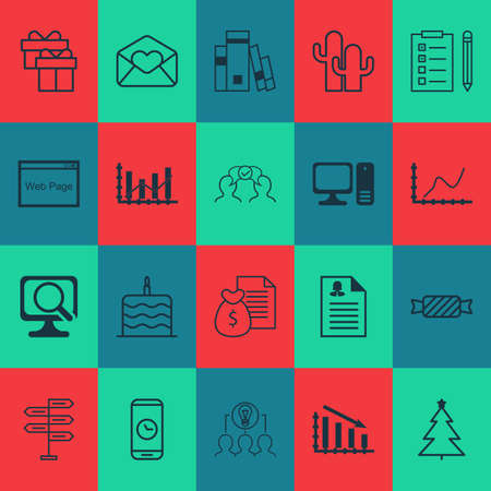 burning paper: Set Of 20 Universal Editable Icons. Can Be Used For Web, Mobile And App Design. Includes Icons Such As Report, Celebration Cake, Present And More.