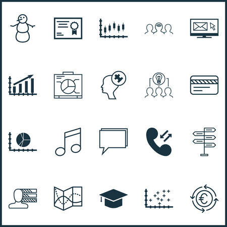 smart goals: Set Of 20 Universal Editable Icons. Can Be Used For Web, Mobile And App Design. Includes Icons Such As Certificate, Road Map, Winter And More.