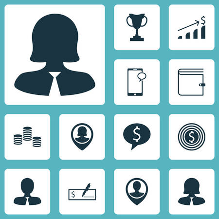 list of successful candidates: Set Of Hr Icons On Messaging, Pin Employee And Money Topics. Editable Vector Illustration. Includes Cup, Money, Goal And More Vector Icons.