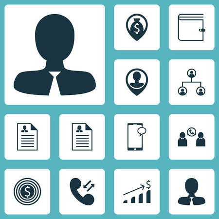 list of successful candidates: Set Of Human Resources Icons On Successful Investment, Cellular Data And Employee Location Topics. Editable Vector Illustration. Includes Chat, Application, Tree And More Vector Icons. Illustration