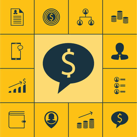 Set Of Human Resources Icons On Business Goal, Messaging And Pin Employee Topics. Editable Vector Illustration. Includes Goal, Chat, Applicants And More Vector Icons.