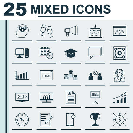 burning money: Set Of 25 Universal Editable Icons. Can Be Used For Web, Mobile And App Design. Includes Icons Such As Loading Speed, Female Application, Celebration Cake And More.